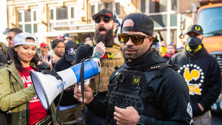 Enrique Tarrio is the leader of extremist group Proud Boys.