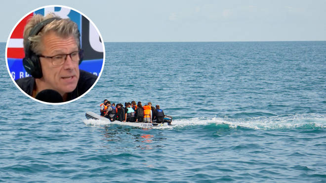 """Former Director General of UK Border Force Tony Smith tells LBC migrant boats arriving on England's shores won't be stopped """"unless we start returning some of them"""""""