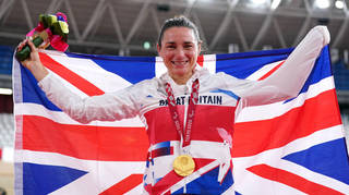 Dame Sarah Storey took the first gold for ParalympicsGB.