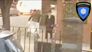Police are trying to identify the attacker.