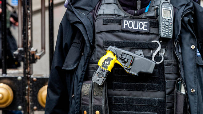A row has broken out over police taser use and training