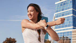 Lifestyle photo of the Fitbit Charge 5