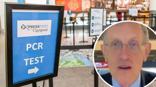 Simon Calder: UK's stringent travel rules are 'frankly a joke'