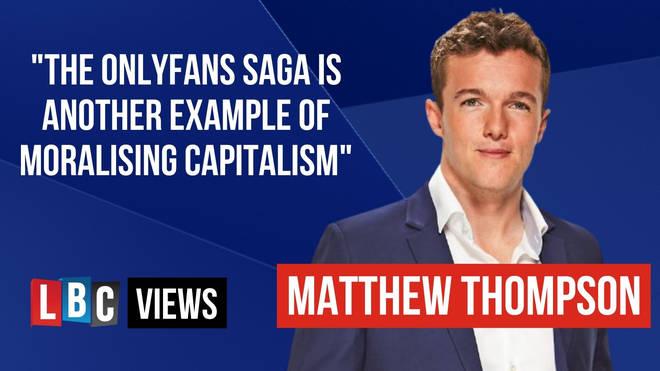 LBC Correspondent Matthew Thompson gave his LBC Views.