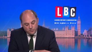 The Defence Secretary was speaking to LBC's Nick Ferrari
