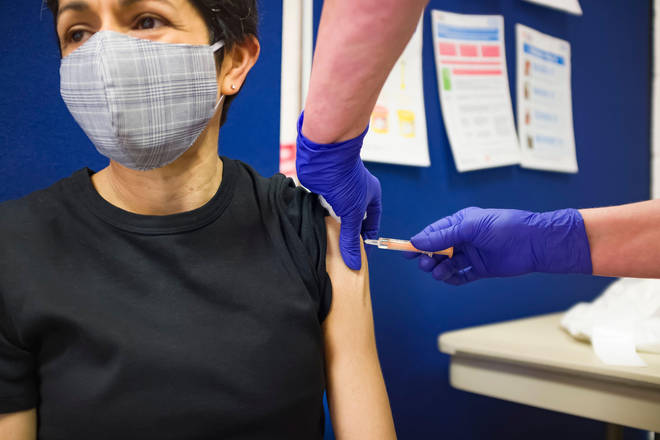 The risk of stroke after having the coronavirus vaccine is ten times less than after contracting coronavirus, research suggests.
