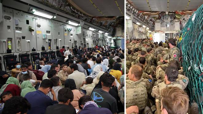 The final UK evacuation flight for Afghan people has left Kabul