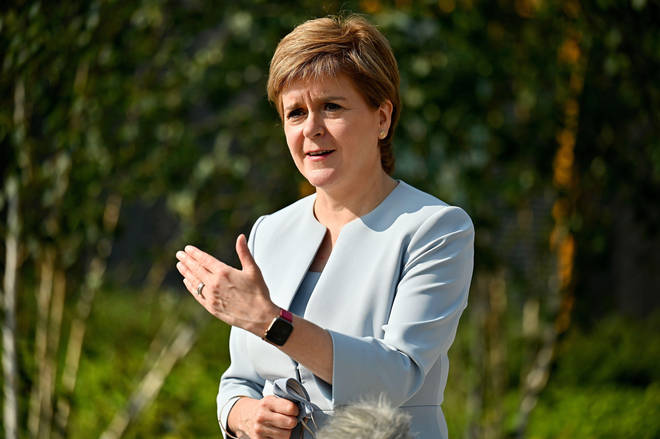Scotland's First Minister, Nicola Sturgeon, is self-isolating after being identified as a close contact of someone who has tested positive for Covid-19.