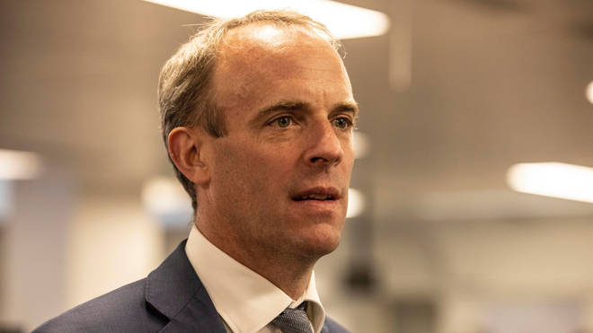 Foreign Secretary Dominic Raab has been heavily criticised for his handling of the situation in Afghanistan