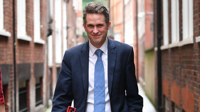 Gavin Williamson said parents and children should not 'throw caution to the wind'