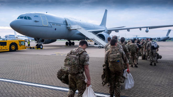The funding announcement comes after British forces fully pulled out of Afghanistan