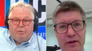 'A hospital in the shape of a starfish?' Nick Ferrari quizzes Lord Wolfson on £250K economics prize