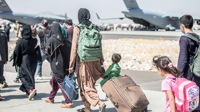The UK has pledges to resettle 20,000 Afghan refugees