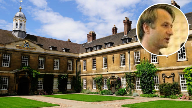 Dr Jeremy Morris, head of Trinity Hall college at Cambridge University, has resigned over claims he mishandled students' complaints about sexual misconduct.