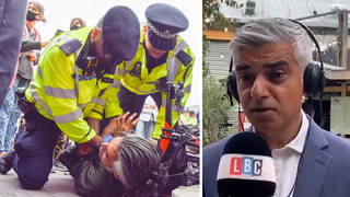 The Mayor of London was speaking to LBC