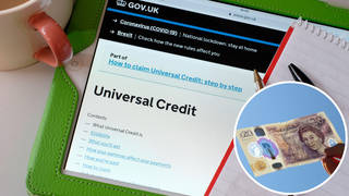 The caller was speaking to LBC about the cut to Universal Credit