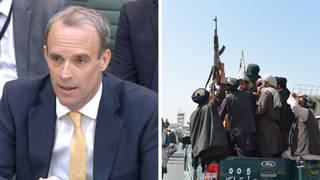 Dominic Raab has been grilled by MPs over Afghanistan