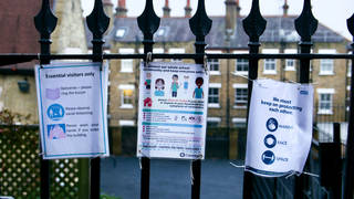 UK schools have been closed for more than 40 per cent of days throughout the pandemic - more than almost all other European countries