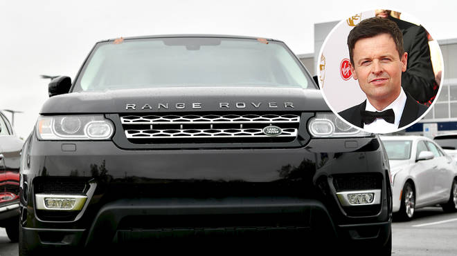 TV presenter Declan Donnelly's black Range Rover was among around £750,000 worth of vehicles targeted by the group