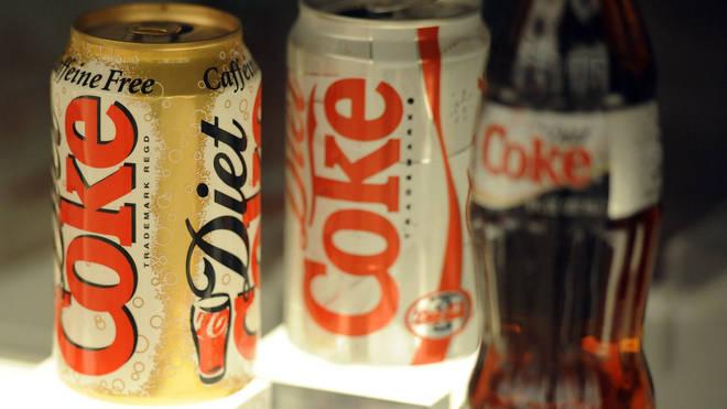 Coca-Cola drinks