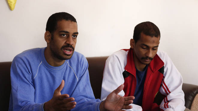 Alexanda Amon Kotey, left, and El Shafee Elsheikh, were part of a group known as 'the Beatles'