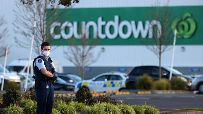The stabbings took place within a Countdown supermarket in Auckland