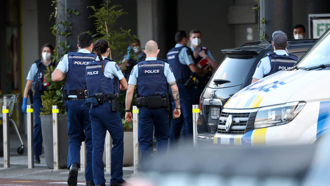 Police responded to the stabbings within 60 seconds, Ms Ardern said