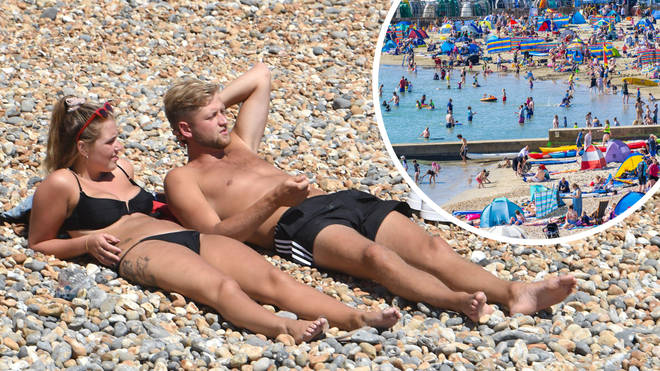 Sunbathing and sea-swimming could be back on the cards next week