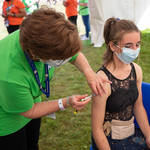 Government advisors say that the jab is not recommended for healthy children aged 12 to 15.