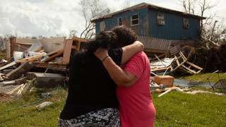 A mother and daughter's Louisiana home of 40 years was destroyed