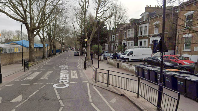 One of the incidents took place on Cazenove Road in Stamford Hill