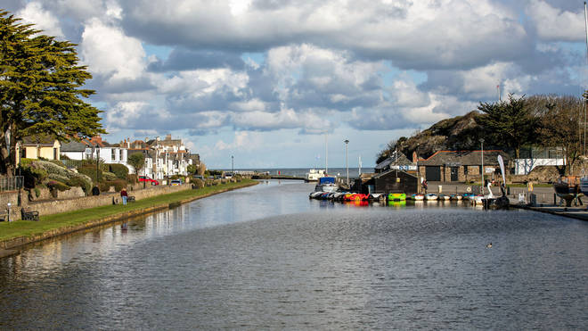 File photo of Bude Canal in north Cornwall