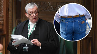 MPs have been told that jeans and chinos are not acceptable for the Commons
