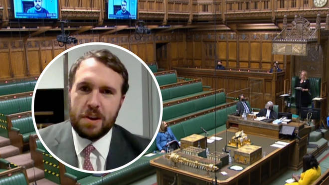 Stoke-on-Trent North MP Jonathan Gullis was ignored on the Order Paper for wearing a Zoom sweater