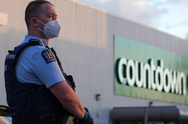 Police responded to the stabbings at the Countdown store within 60 seconds