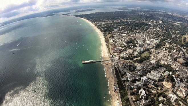 Bournemouth Air Festival posted this image and said all flying has been cancelled today