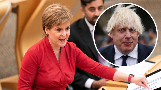 No10 is said to be trying to keep Nicola Sturgeon out of the limelight at Cop26