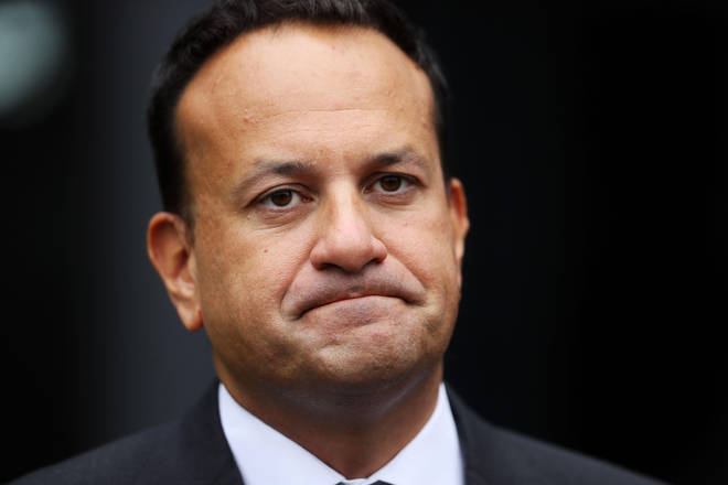 Tánaiste Leo Varadkar was pictured at a UK music festival while outdoor events are limited to 200 people in Ireland