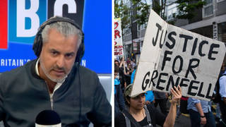 Government 'erasing memory of Grenfell for convenience', Maajid Nawaz fears
