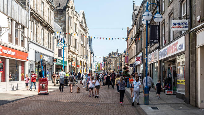 High streets suffered with almost 50 shops shutting each day across Britain in the first half of 2021