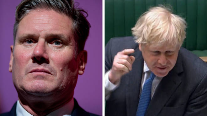 Keir Starmer will oppose Boris Johnson's proposed 1.25 per cent increase in national insurance, saying it will 'hit working people hard'