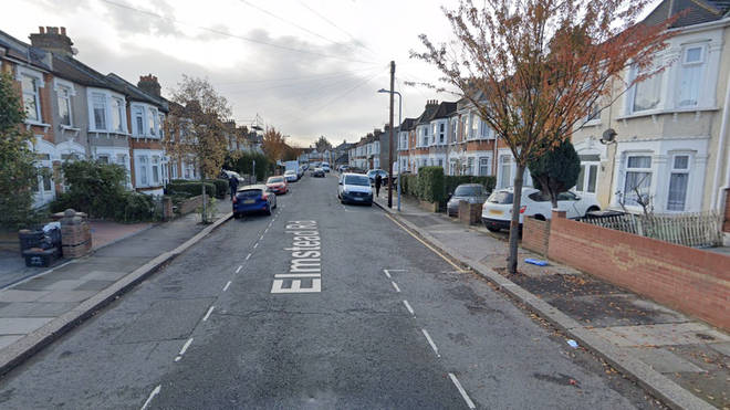 The incident happened on Eynsford Road in Ilford, East London