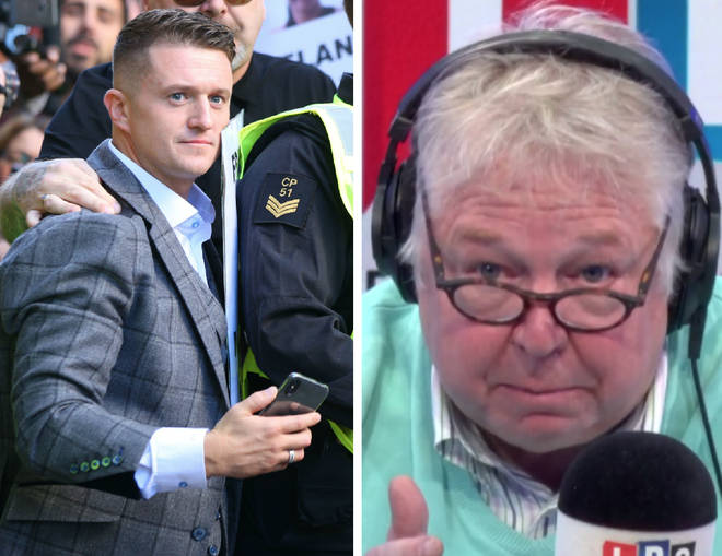 Two Ukippers clashed over the appointment of Tommy Robinson