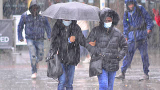 A 10-hour storm is set to batter parts of the UK.