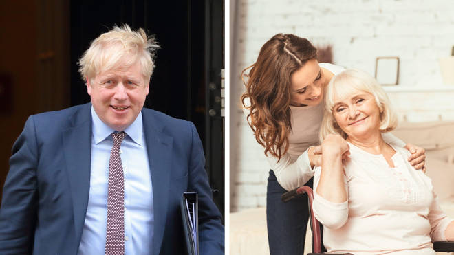 Boris Johnson's social care reform plans have been backed by the Cabinet.