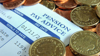 The Secretary of State for Work and Pensions has confirmed that the so-called triple lock on state pensions is being scrapped for a year.