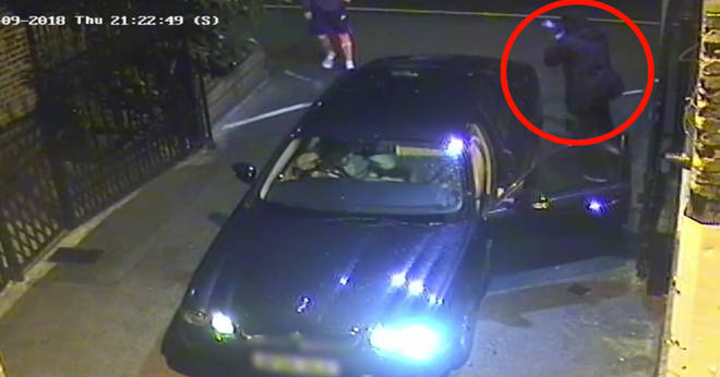 CCTV has today been released of the incident