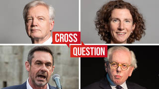 Cross Question with Iain Dale 09/09 | Watch LIVE from 8PM