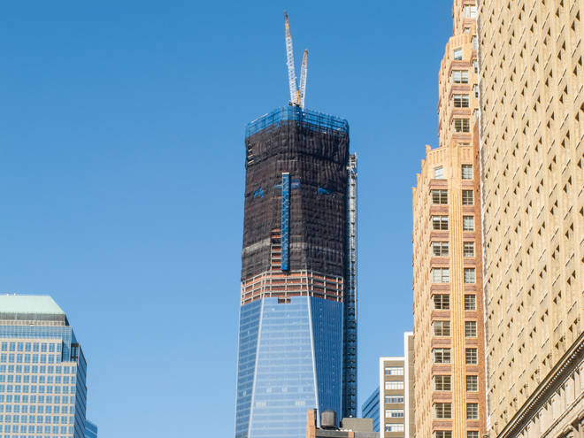 One World Trade Centre towered over much of New York even before it was completed