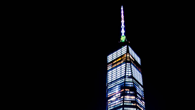 One World Trade Centre, just like the twin towers, has taken its place as a distinctive New York landmark